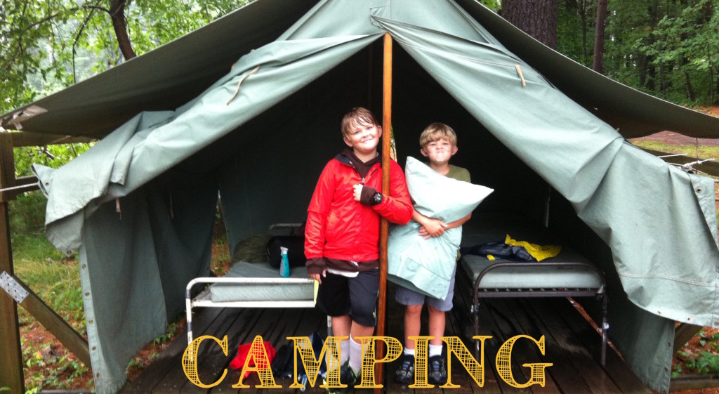 Webelos Overnight Week Aug 2014 2